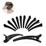 Ealicere 12 Stück Haarspange Haar Klammer Combi-Clip Karte Hairclips Abteilklammern Hair-Clips Combi aus Kunststoff (12cm)