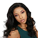 6x6 Lace Wig Perruque Bresilienne Body Wave 6x6 Closure Wig Human Hair Perruque Bresilienne Lisse Perruque Femme Naturelle Cheveux Humains 24 Inch by NIUDINNG