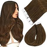 Easyouth Haar Klebeband Erweiterungs Kleber 14' 80g 40Pcs Pro Paket Farbe #4 Mittleres Brown Tape Haar Erweiterungs Menschlicher Kleber in Den Haar Erweiterungen