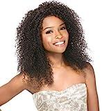 Sensationnel BRAZILIAN LACE WIG - Bohemian (Bare & Natural) - 100% Echthaar Perücke / 100% human hair Lace Wig (färbbar, waschbar, stylebar), Farbe:Natural (Dunkelbraun ungefärbt)