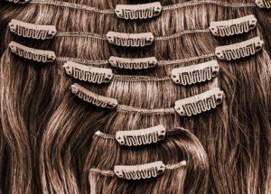 Haartressen mit Clip-Ins sind besonders leicht anzuwenden.