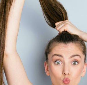 Zopf-Haarteile stehen Dir sowohl für kurze als auch für längere Haare zur Auswahl.